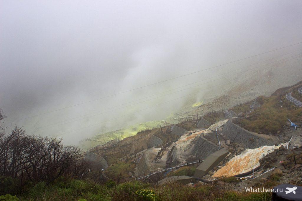 Долина Овакудани в Хаконе