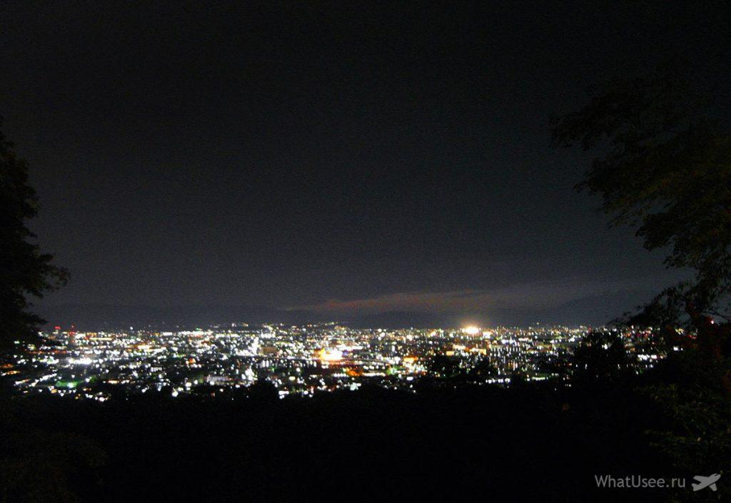 Храм Фусими Инари вечером