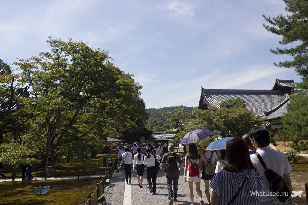 Золотой павильон Киото