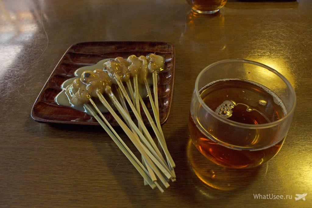Чайная Ichiwa в Японии