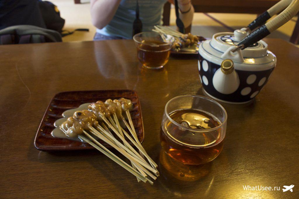 Самая старая в Японии чайная Ichiwa