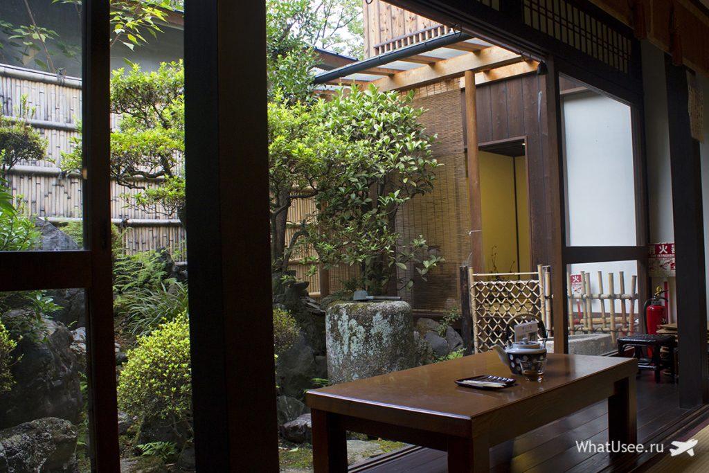 Самая старая в Японии чайная