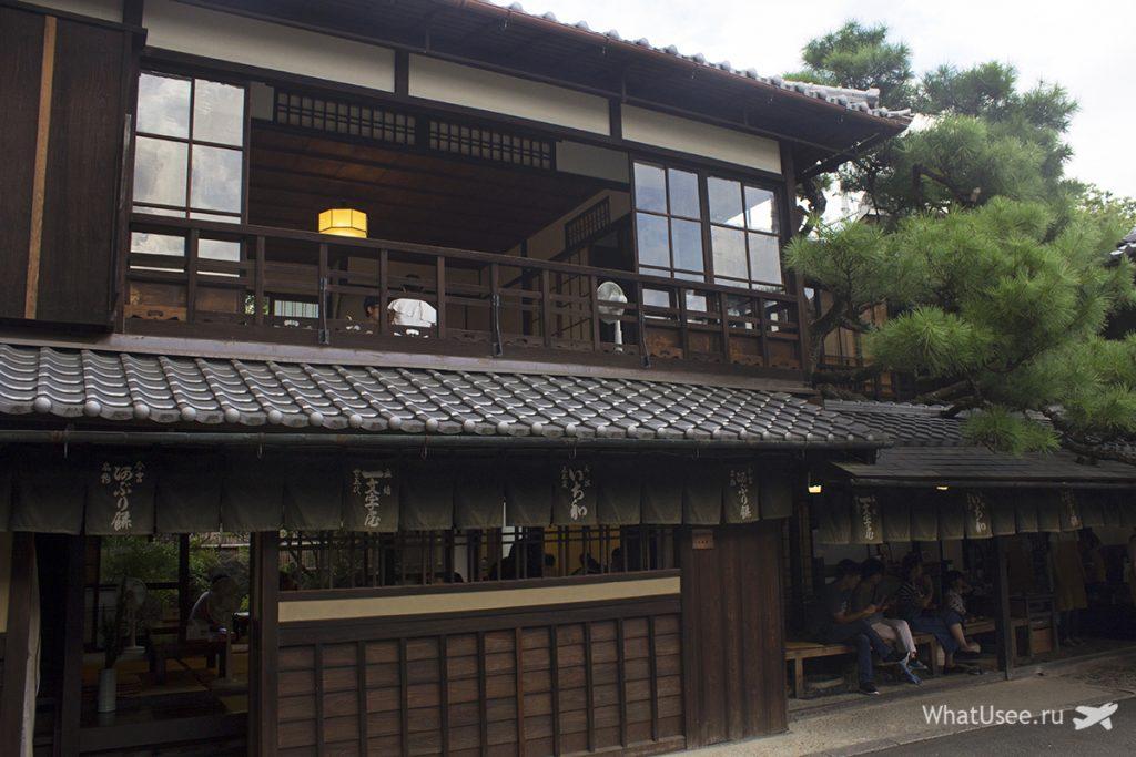 Чайная Ichiwa в Киото