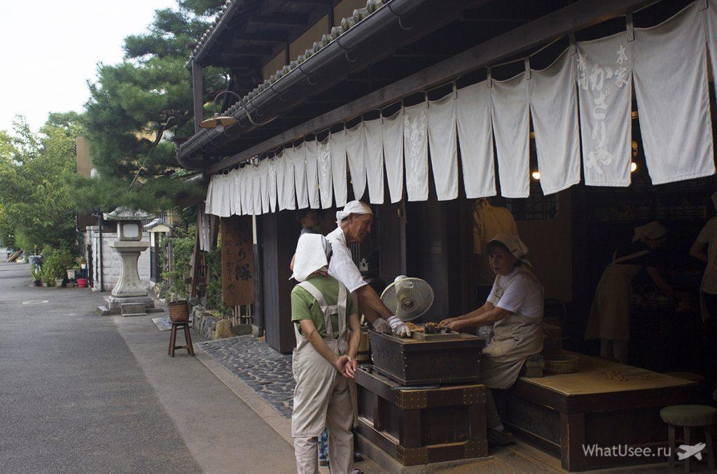 Чайная Kazariya в Киото