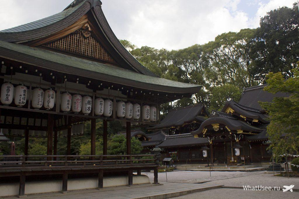 Храм Imamiya Shrine в Киото