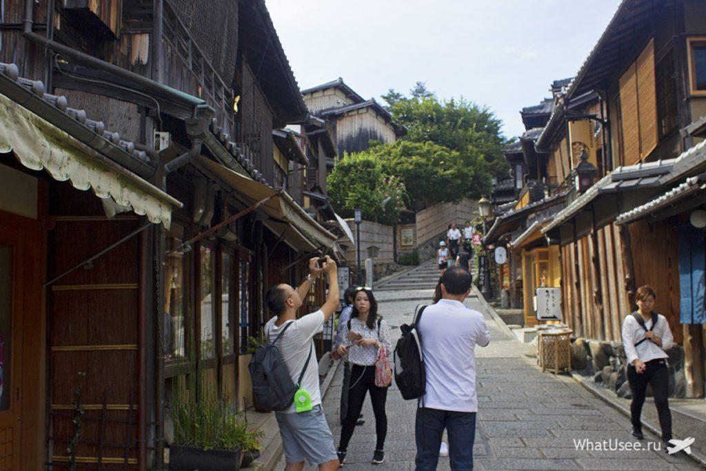 Квартал гейш Гион в Киото