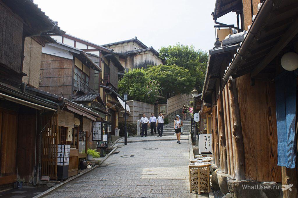 Квартал Гион в Киото