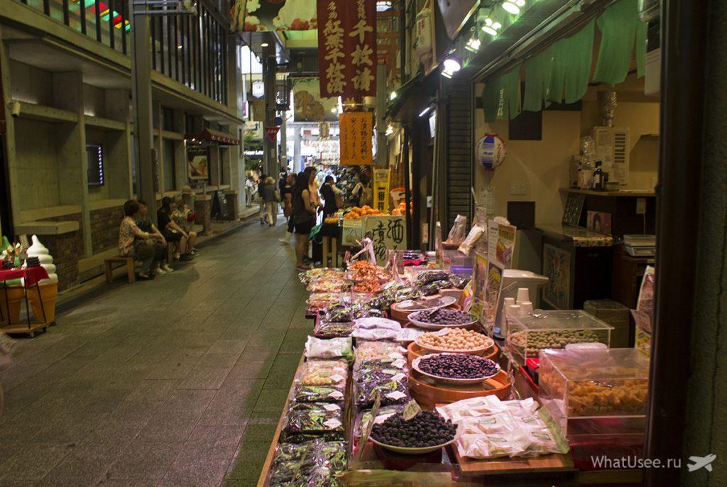 Рынок Нисики в Киото