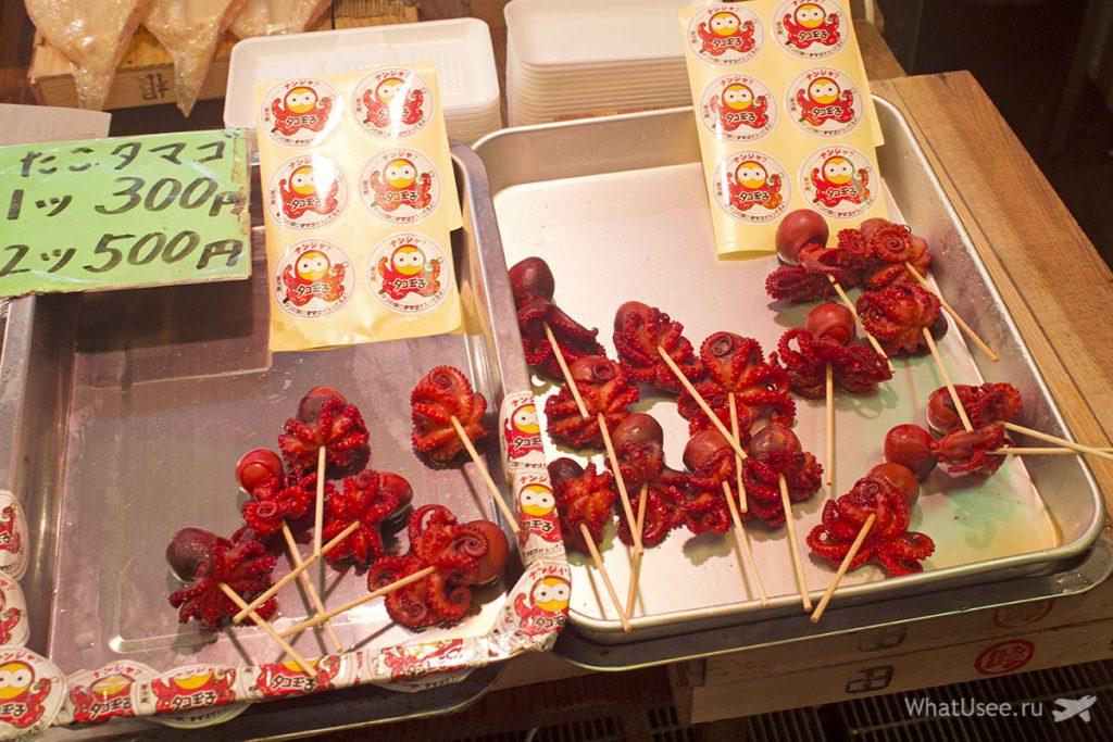 Что купить на рынке Нисики в Киото
