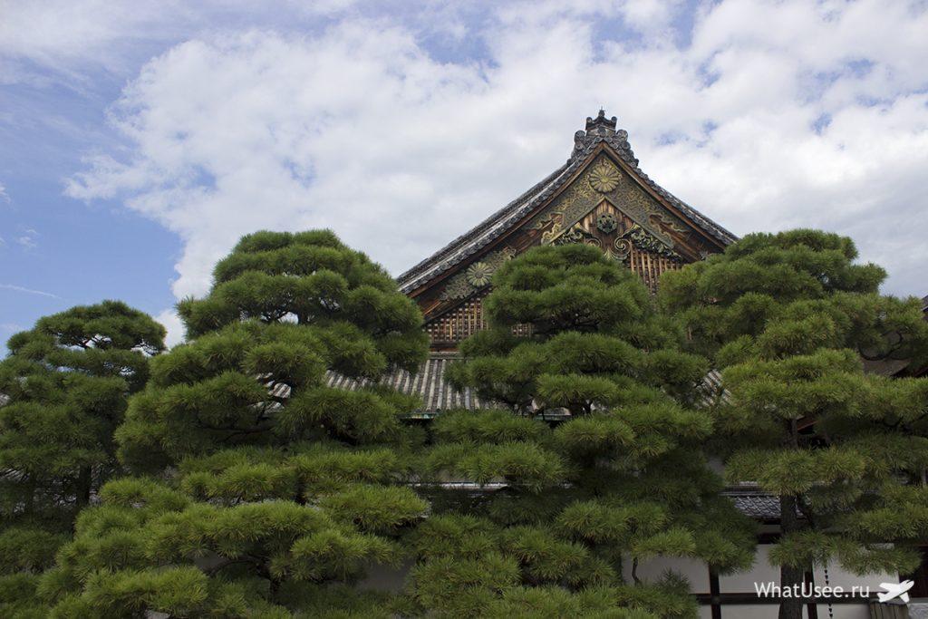 Замок Нидзе в Киото