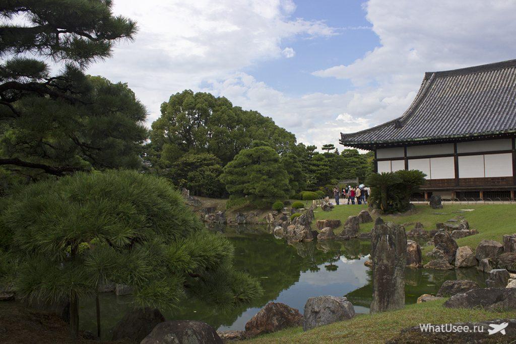 Замок Нидзедзе в Киото