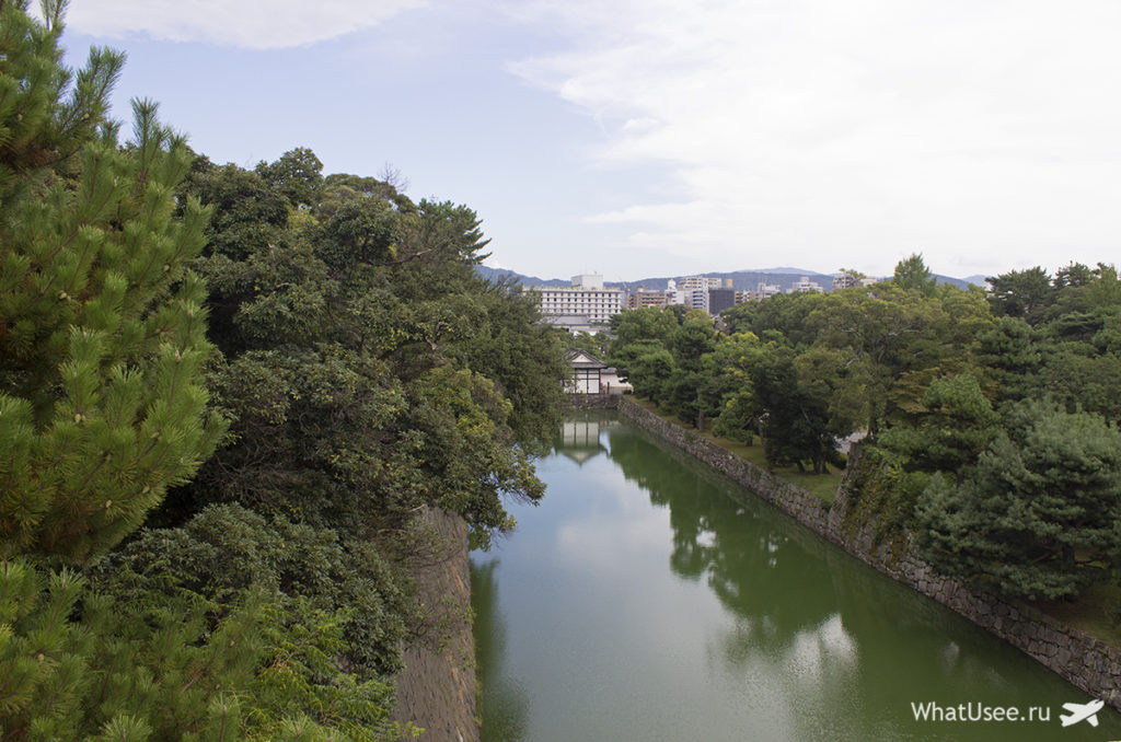 Что посмотреть в замке Нидзе в Киото