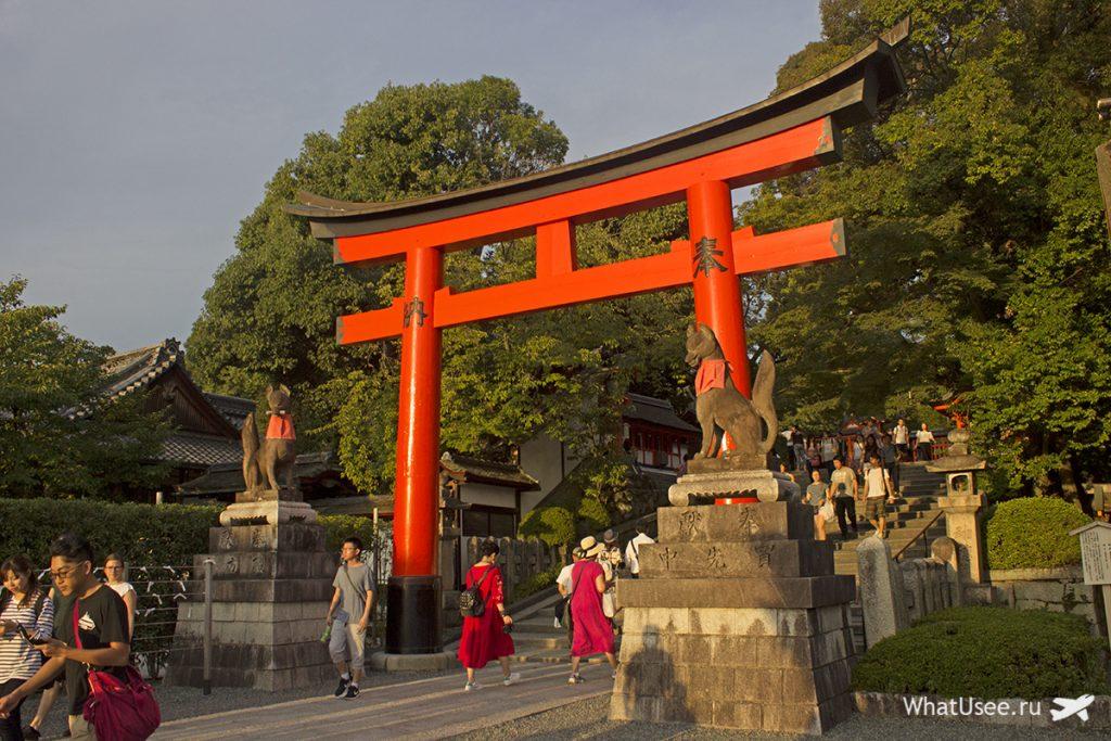 Фусими Инари тайся в Киото