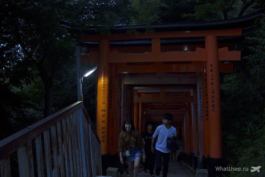 Поездка в Фусими Инари