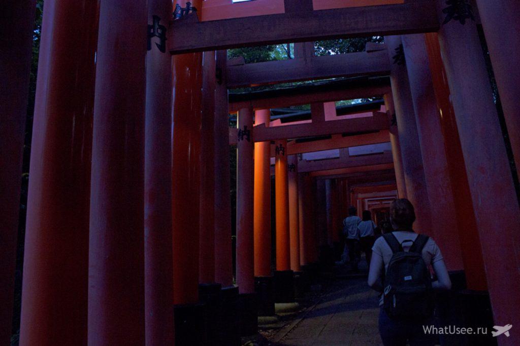 Храм Фусими Инари в Киото