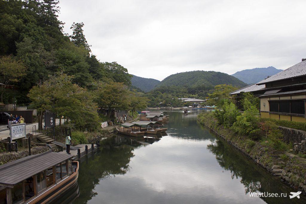 Поездка в Арасияму в Киото