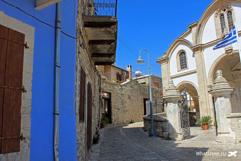 Церковь в деревне Лефкара