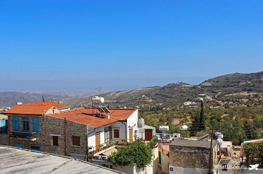 Смотровая площадка в деревне Лефкара