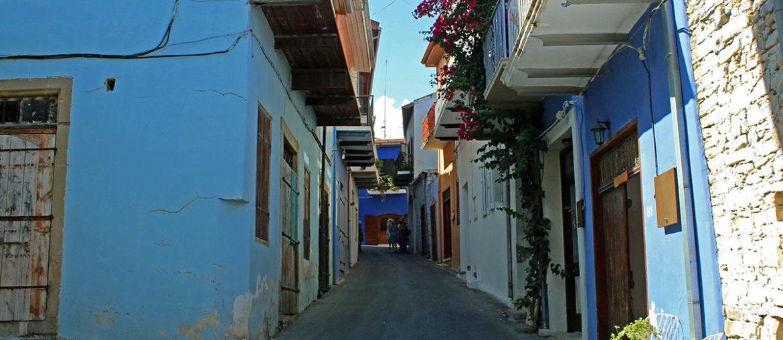 Кипр деревня Лефкара