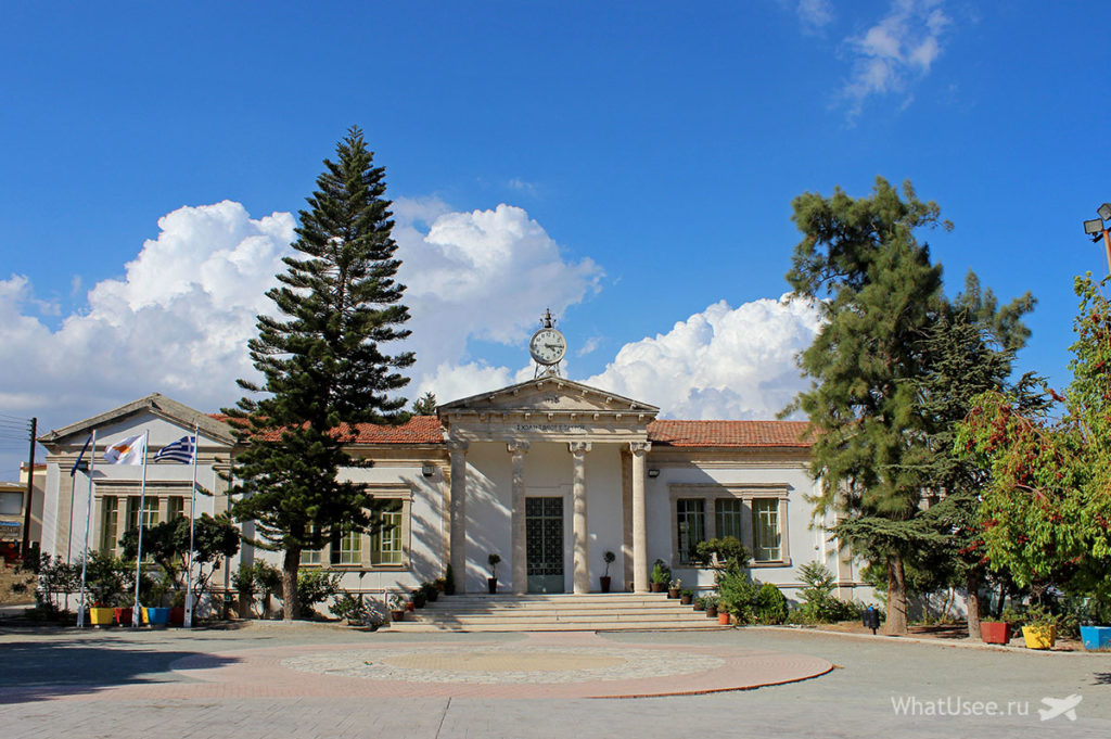 Деревня Лефкара Кипр