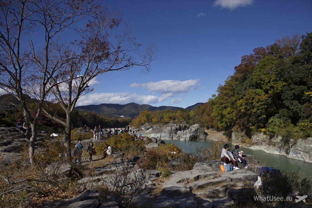 Поездка в Нагаторо из Токио