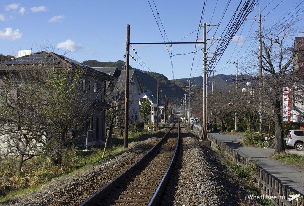 Железная дорога в Нагаторо