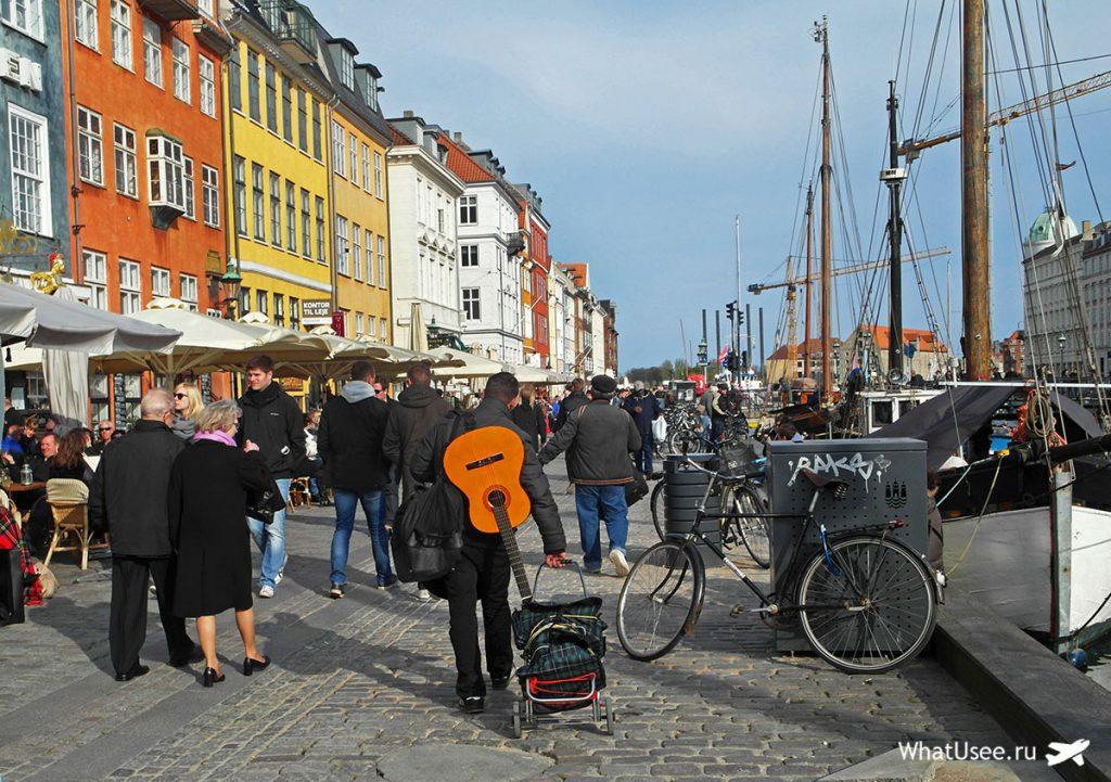 Дания 3 дня в Копенгагене