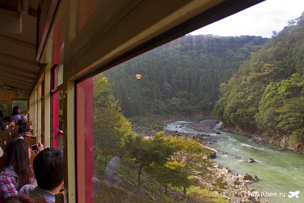 Романтический поезд Сагано