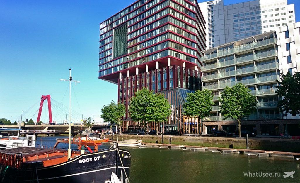 Каналы Роттердама в Нидерландах