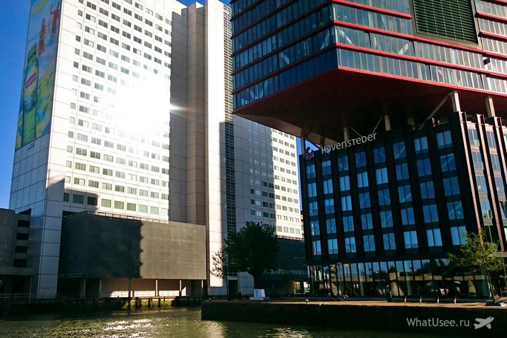 Архитектура Роттердама и кубические дома