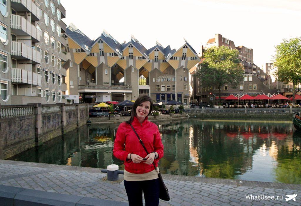 Кубические дома Роттердам