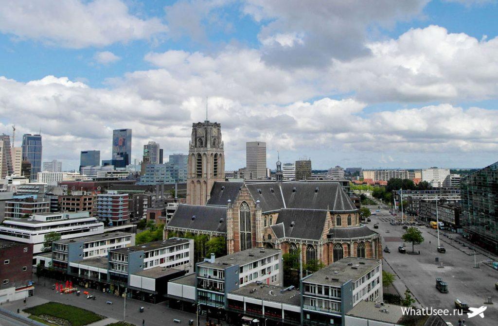 Старая часть Роттердама