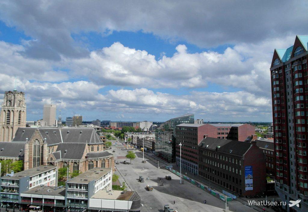 Старая часть города Роттердам