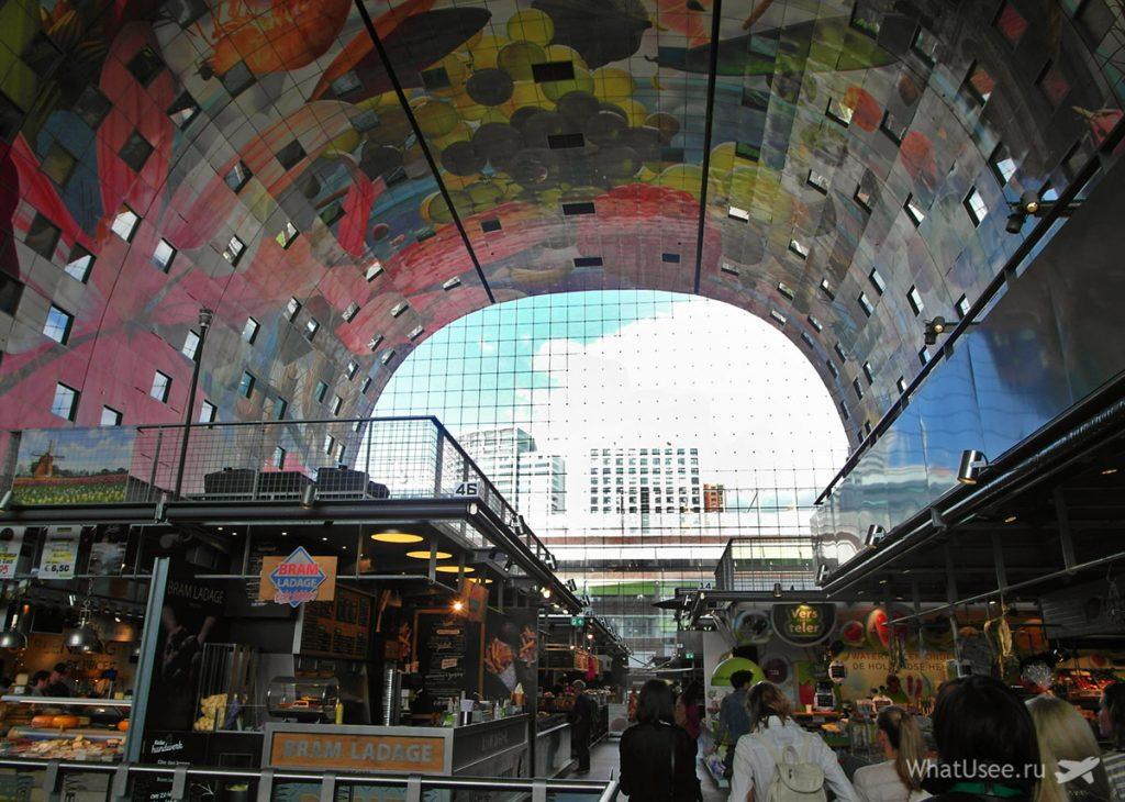 Рынок Марктхал в Роттердаме