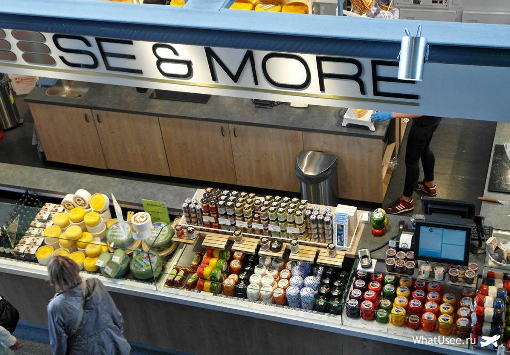 Рынок Марктхал в Роттердаме, Нидерланды