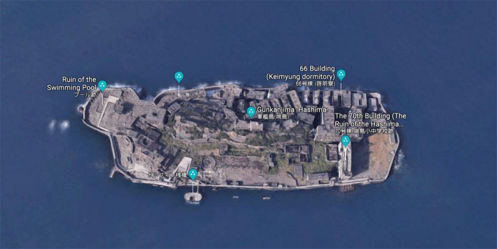 Поездка на остров Hashima