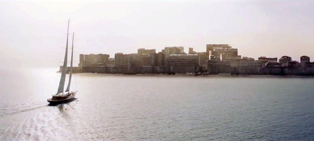 Остров Hashima в фильмах