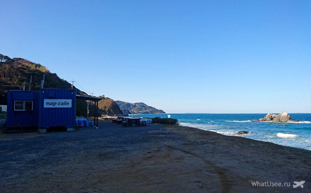 Поездка на пляж Sakurai Futamigaura