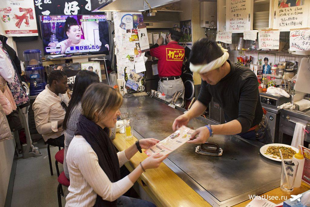 Где попробовать окономияки в Японии
