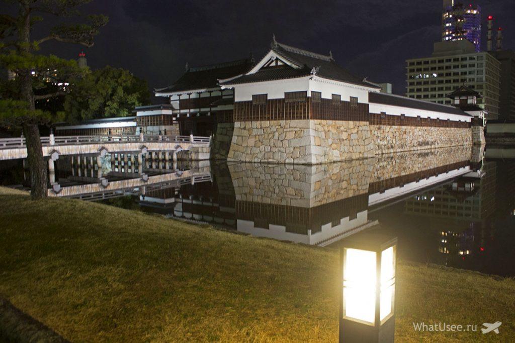 Хиросимский замок карпа