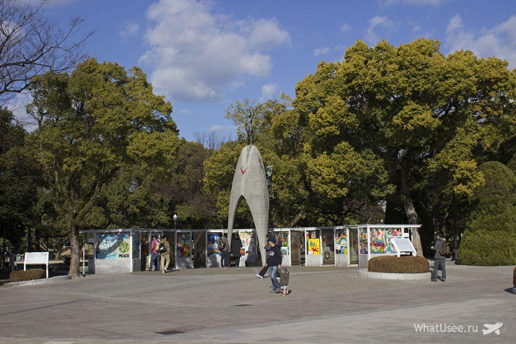 Мемориал детям в Хиросиме