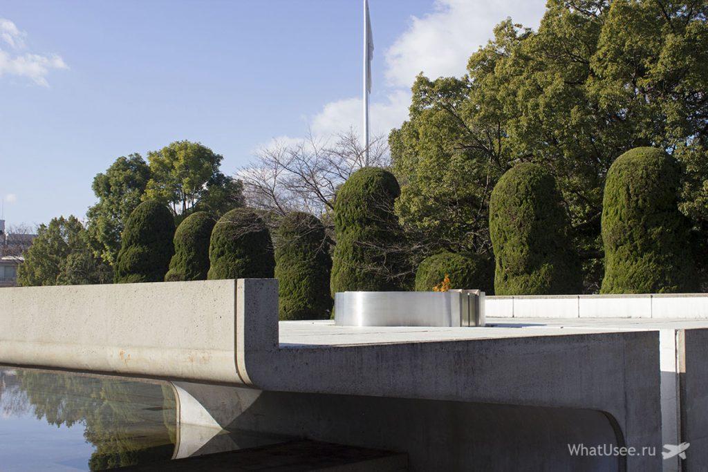 В парке мира в Хиросиме