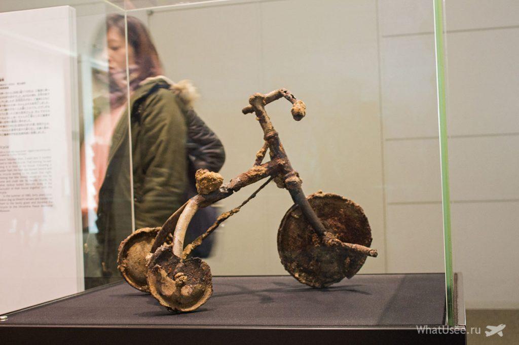В музее мира в Хиросиме