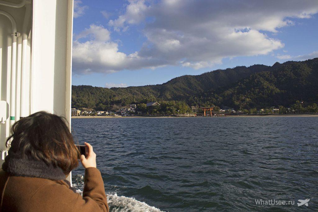 Как добраться на остров Miyajima