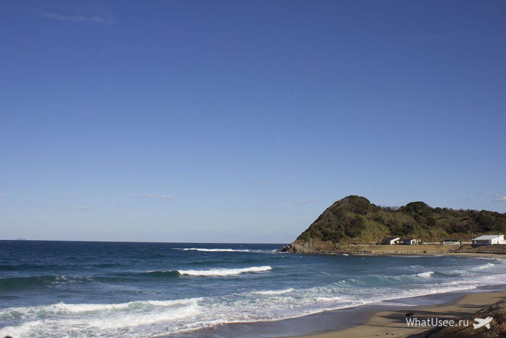 Пляж Sakurai Futamigaura