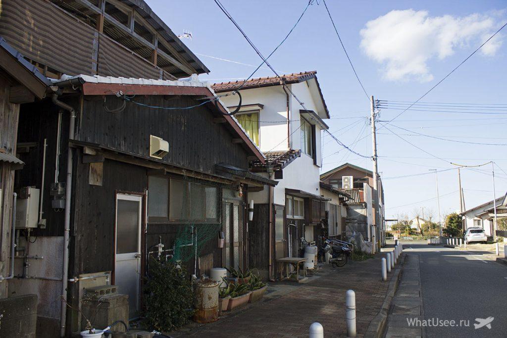 Поездка к скалам Sakurai Futamigaura на Кюсю