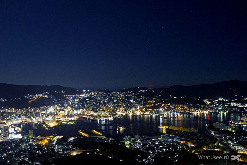 Вид на миллион долларов в Нагасаки