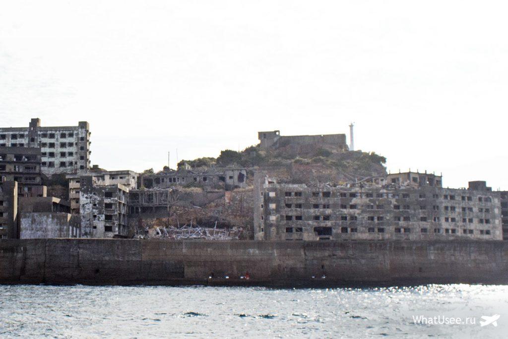 Поездка на заброшенный остров Хасима