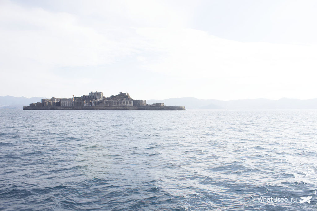 Поездка на остров Hashima в Японии