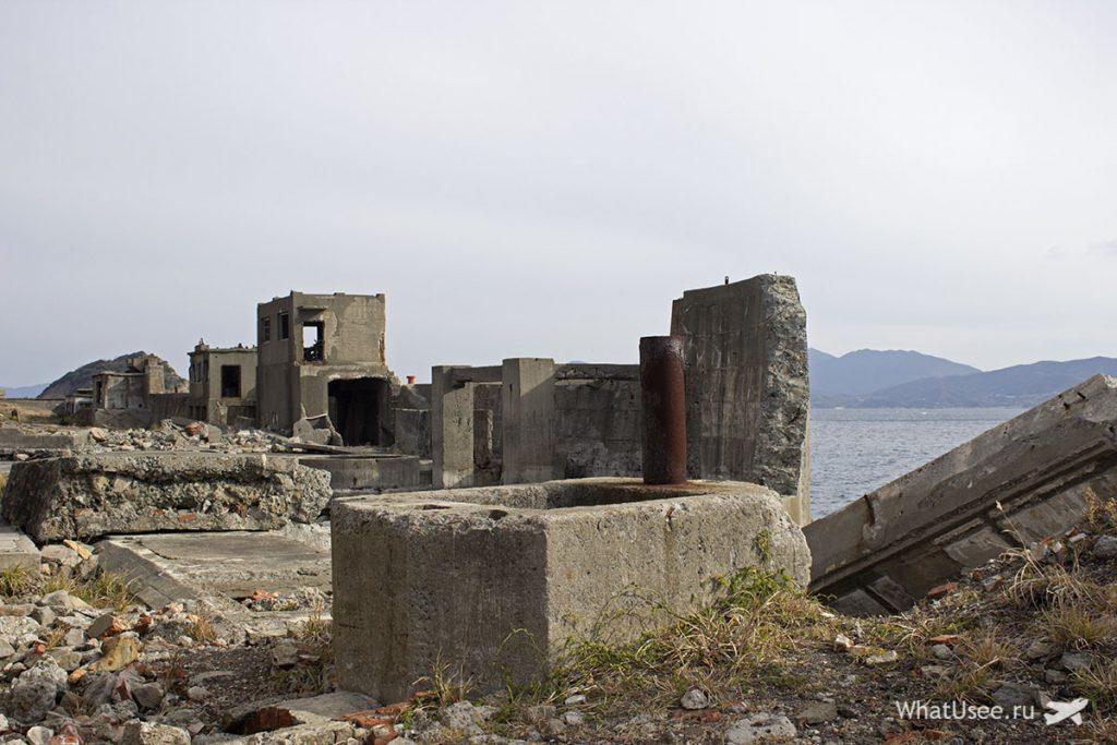 Заброшенный город Хасима